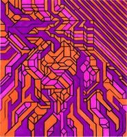 """SPLORE GOSIUM (8.25""""x7.5"""") SHARPIE ON VELLUM PAPER"""