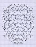 "CUMBUSTION (5.75""x7.5"") PENCIL ON VELLUM PAPER"