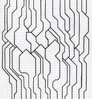 "END MEETING (8.25""x7.5"") SHARPIE ON VELLUM PAPER"