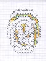 "LOW SIGNAL (5.75""x7.5"") GEL PEN & COLORED PENCIL ON VELLUM PAPER"