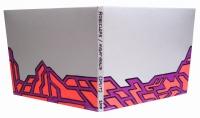 "ROBOCLOPS / NIGHT HEALTH (SPLIT) (11.25""x5"") SHARPIE ON CD COVER"