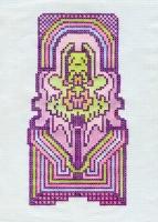 """SQUID BRAIN (5.75""""x7.5"""") GEL PEN & COLORED PENCIL ON VELLUM PAPER"""