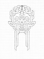 "ELECTRON ELF (5.75""x7.5"") PENCIL ON VELLUM PAPER"